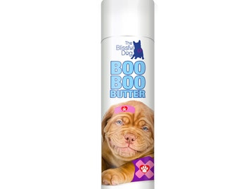 Dogue de Bordeaux Boo Boo Butter Handcrafted All Natural Herbal Balm for Your Dog's Itchy Skin Irritation Discomforts .50 oz Tube