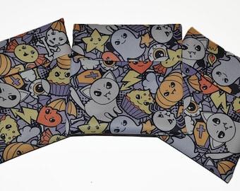 Halloween PUL Pad Wrapper/ Mini Travel Wet Bag