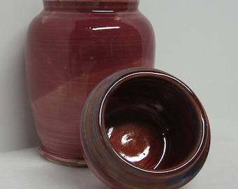 Glaze Test Pair of Porcelain Pots