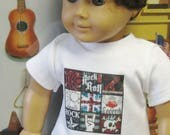 """Assorted T-Shirts for 18"""" Boy Dolls"""