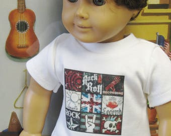 "Assorted T-Shirts for 18"" Boy Dolls"