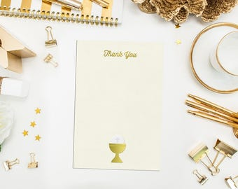 First Holy Communion Thank You Cards. Communion thank you. Baptism Thank You Cards. First Communion Thank You. Gold Thank you