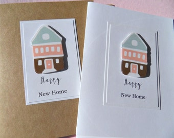 New Home Card, Housewarming Card, Congratulations on your New Home Card, New Homeowners Card, New House Card, Change of Address Card, nhtr
