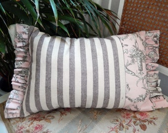 Summer Stripes combined with Parisian Toile is so French and Fabulous