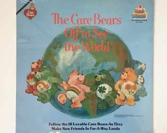 SEALED The Care Bears Off to See the World Record Album LP Kid Stuff Childrens Music 1980s