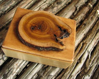 WOOD GIFT BOX/ for Weddings/ Special Occasions/ Trinkets/ Jewelry