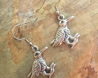 Bird charm earring set 510