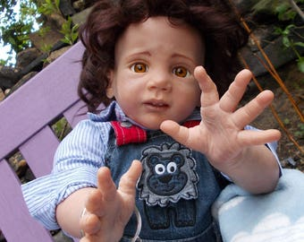 Reborn toddler baby boy doll 'Tommy' for sale