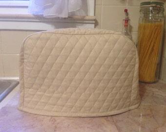Khaki Kitchen 4 Slice Toaster Cover Ready To Ship Next Business Day.