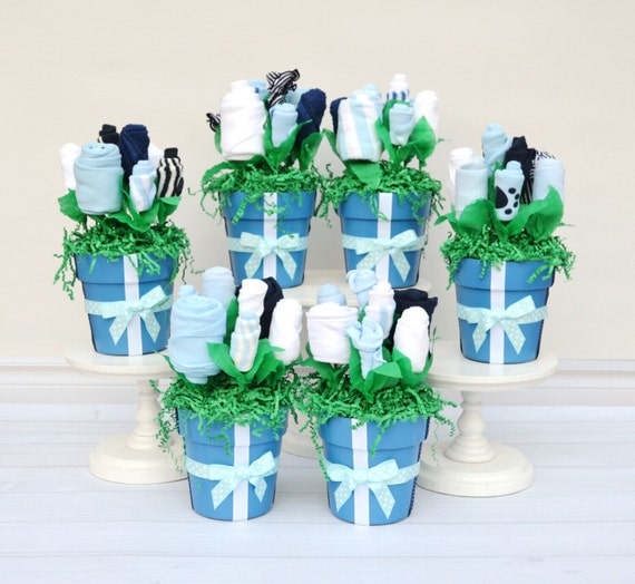 Baby Shower Ideas Boy, Boy Baby Shower Package, Blue Baby Shower Centerpiece, Unique Boy Shower Decor, Unique Table Decorations Boy