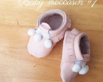 Baby moccasins #7