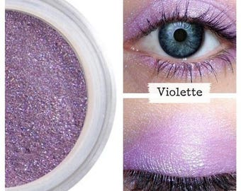 Violet Shimmer, Everyday Eye Shadow, Ultra Pigmented, Natural Eyeshadow, Makeup Artist, Great Pigment, Long Lasting Wear, Cruelty Free Vegan
