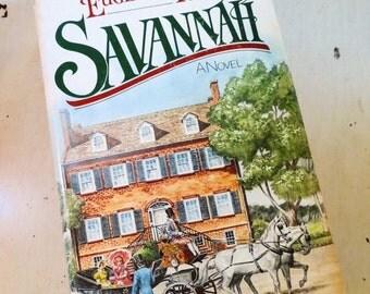 SALE VIntage 1983 SAVANNAH Hard Back Book by Eurenia Price