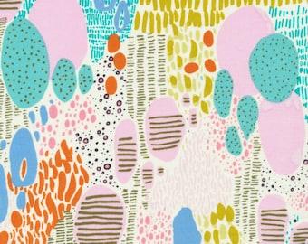 Cloud 9 Fabrics - Bird's Eye View by Sarah Watson - Doo Be Doo Be Doo in White Organic