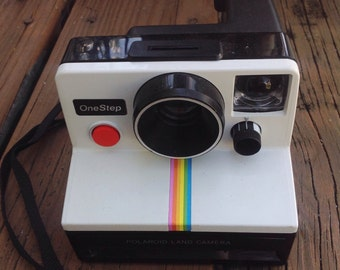 Vintage Polaroid One Step Land Camera instant camera. Photography. Photographer. Photograph.