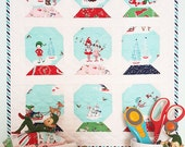 Snow Globes Mini Quilt PATTERN - PDF - Pixie Noel