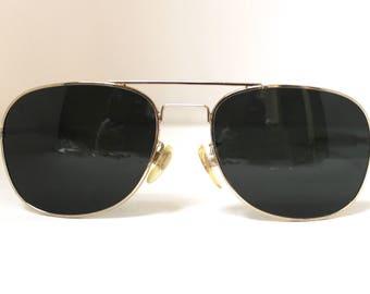 WW2 Pilots Aviator style Sunglasses, Paddle arms
