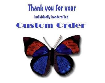 Deposit only -- Custom for Sherri