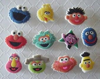 33 Like Sesame Street Party Pack Shoe Charms
