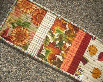 fall leaves runner - FREE SHIPPING