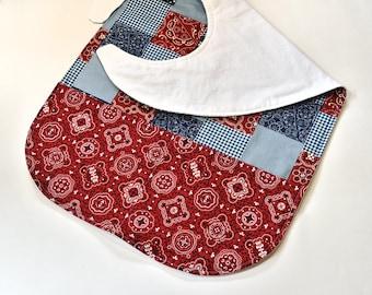 Adult Bib With Pocket, Special Needs Bib Clothes Protector, Senior Elderly Gift, Nursing Home, GrandMa Gift, Crafts or Makeup