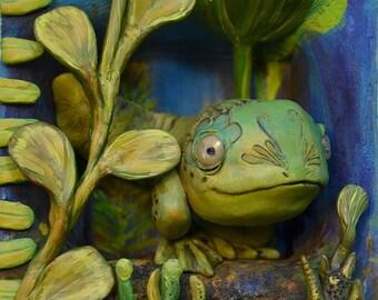 Froggie Tadpole - Print