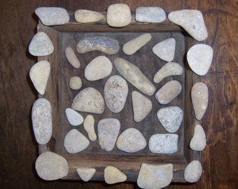 Natural Raw Unpolished Rocks, 35 Stones, Perfect Natural Shapes, some Conglomerate, Home Decor Display or Crafts