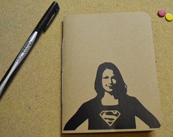 BUY 2 GET 1 FREE Supergirl Pocket Journal Melissa Benoist