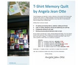 For Mauxferry - Upcycled Repurposed T-Shirt Memory Quilt - 2nd half of payment for 2 quilts