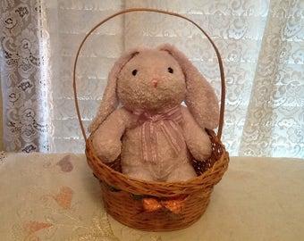 Lavender Bunny Lop Ear Chosun Plush Animal Adorable Easter Rabbit