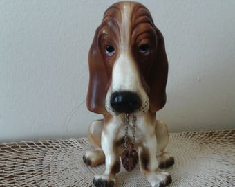 Basset Hound, Big Dog Figurine, Man Cave, Father's Day, Gift for Him