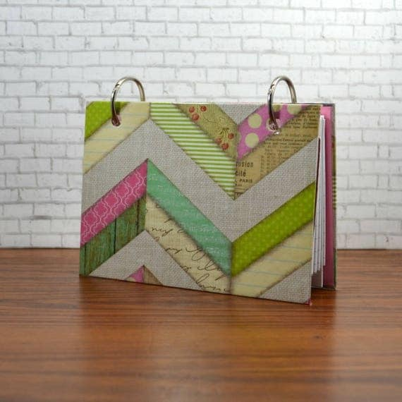 index card binder 3 x 5 or 4 x 6 multi
