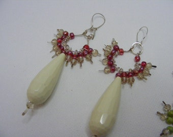 White Jade with Sparkle