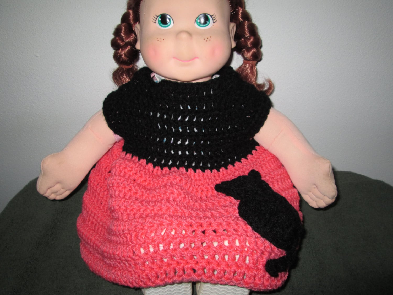 Baby Girl Sweater Dress Crocheted By SuzannesStitches Crochet