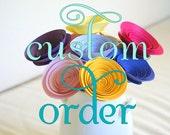 Custom order for Jess