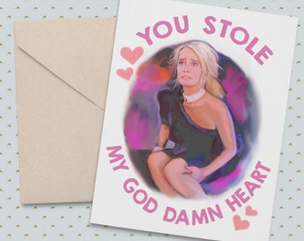 Real Housewives of Beverly Hills Kim Richards RHOBH Greeting Card ALL OCCASIONS