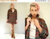 25% off sale - Flannel OverShirt  //  SouthWest Flannel Shirt  //  OCTOBER SKY