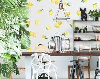 Vinyl Wall Sticker Decal Art - Lemons
