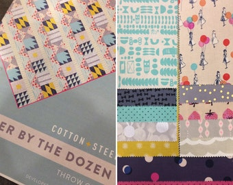 Quicker By the Dozen Cotton + Steel Quilt Kit-PRE ORDER