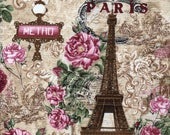 Paris Rendezvous Metro Toile - Timeless Treasures - 1 Short Yard