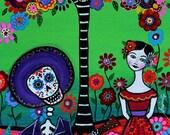 CUSTOM ORDER for Catherine_ Dia de los Muertos Serenata - Final payment