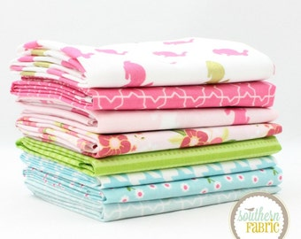 "Easter Love - Fat Quarter  Bundle - 8 - 18""x21"" Cuts - by Southern Fabric Quilt Fabric"