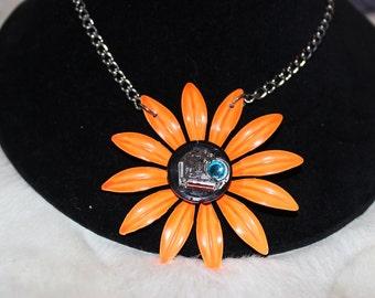 Large Orange Daisy  FP-01