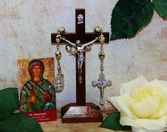 Unbreakable Catholic Chaplet of St. Anastasia - Patron Saint of Widows and Weavers