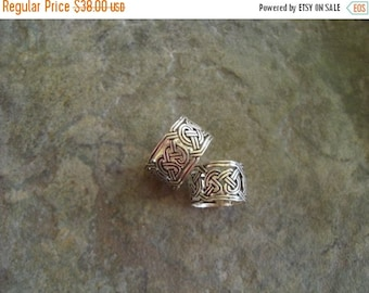 ON SALE Celtic ring in sterling silver