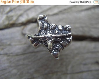 ON SALE Texas ring in sterling silver