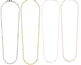 BEST SELLER! Sparkle Choker in Oxidized Silver, Gold and Rose Gold