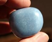 ON SALE Angelite Tumbled Stone Large Size
