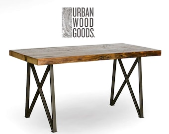 Commercial Urban Design Restaurant/Pub Dining Table in choice of leg style, size, height and finish