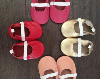 Sale Ballet Baby Moccasins Baby Moccs Moccs Moccasin Shoes Baby Shoes Soft Soled Shoes Crib Shoes Moccasins Ballet Baby Moccs Shoes